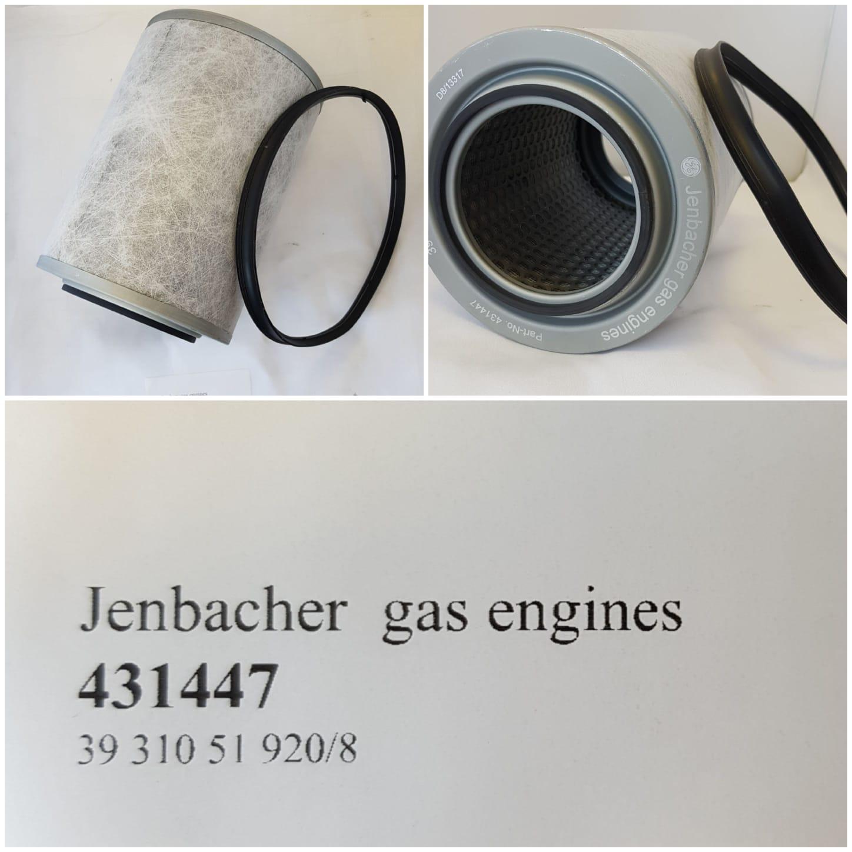 Jenbacher beluchtingsfilter (Carter)