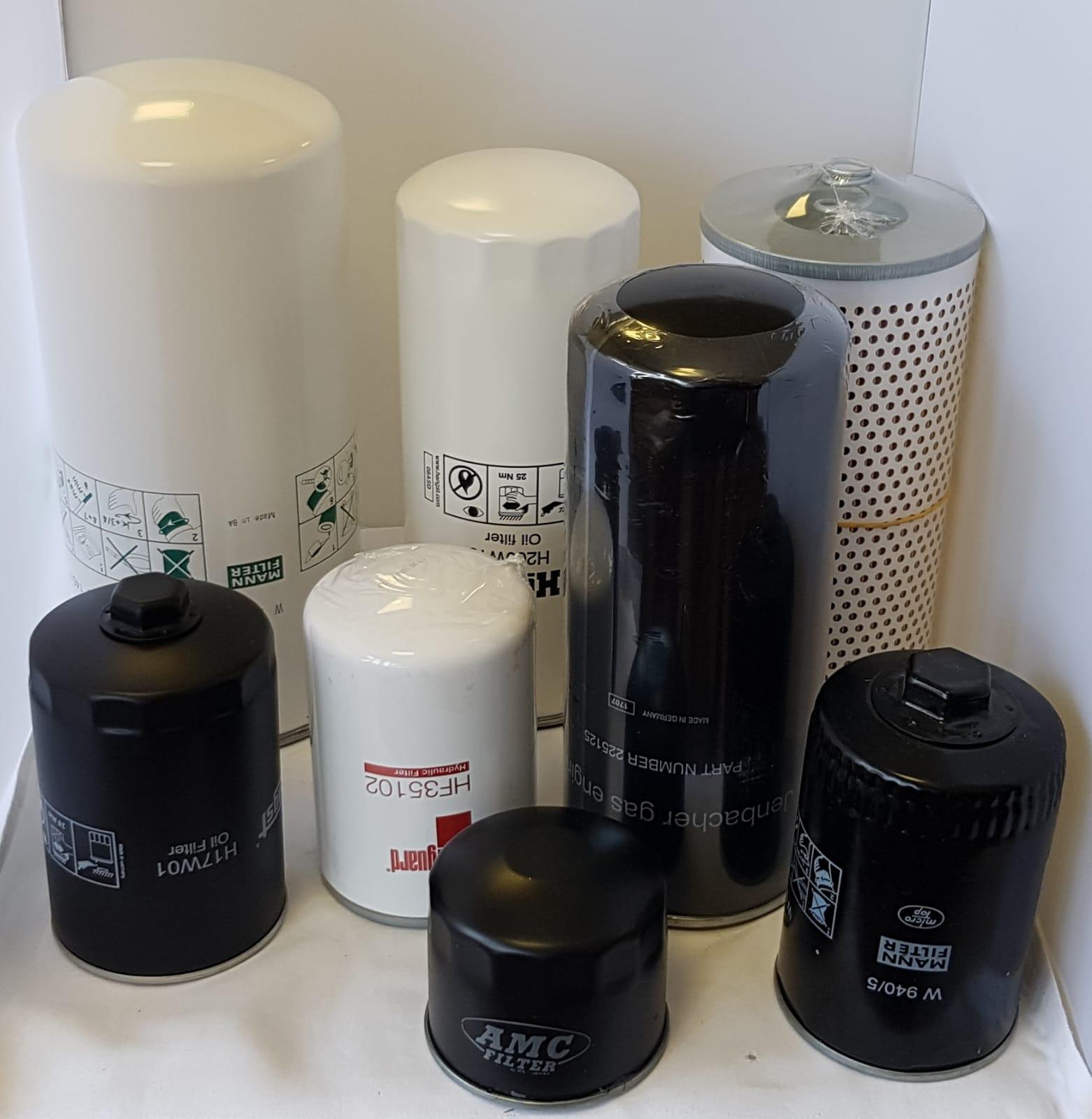 Oliefilters voor gasmotoren